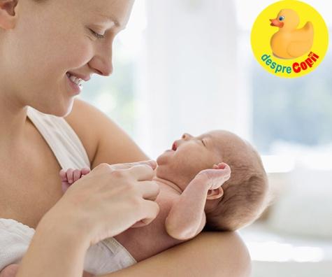 Motivul pentru care multe mame isi poarta copilul in partea stanga