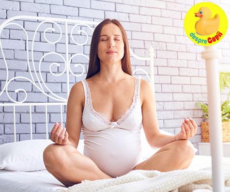 Exercitii de respiratie pentru gravidute