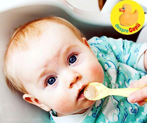 Retete pentru bebelusii de 7 luni: a doua luna de diversificare
