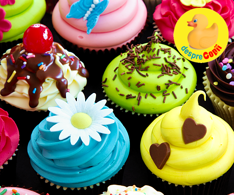 10 retete de cupcakes glamour