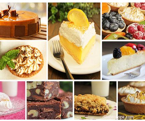 16 retete formidabile de prajituri