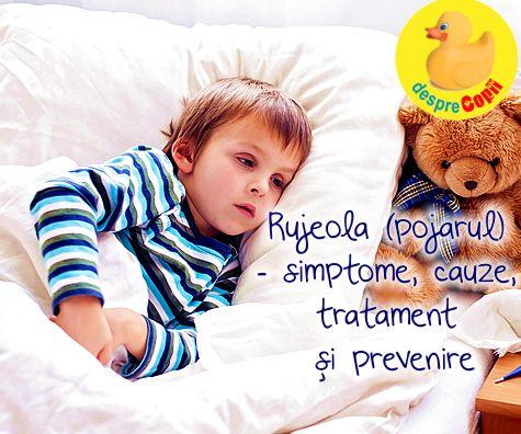 Pojarul (rujeola) la copil: simptome, cauze,tratament si prevenire