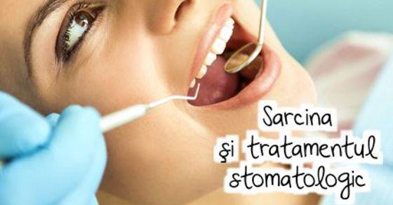 Sarcina si tratamentul stomatologic width=