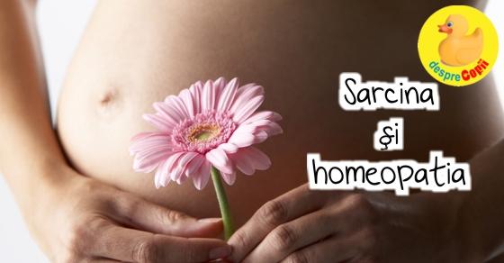 Sarcina si homeopatia width=