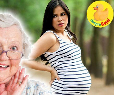 10 superstitii despre sarcina sau ce mai spun babele despre sarcina