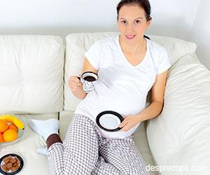 Efectul cafelei bauta de mama in timpul sarcinii asupra copilului