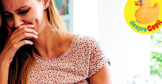 Simptome de sarcina: semnalele care anunta ca barza zboara pe aproape width=