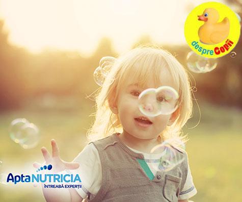 (P) Primii 3 ani de viata sunt esentiali pentru construirea sistemului imunitar al copilului