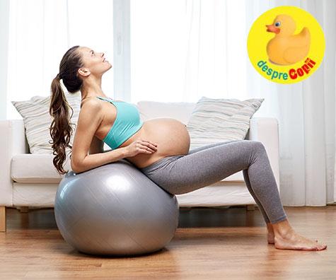 Vrei sa ai o nastere mai usoara? Fa sport si miscare multa in timpul sarcinii