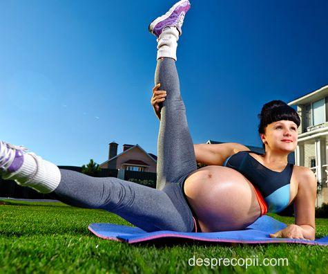 Sportul in timpul sarcinii: ce e bine si ce nu