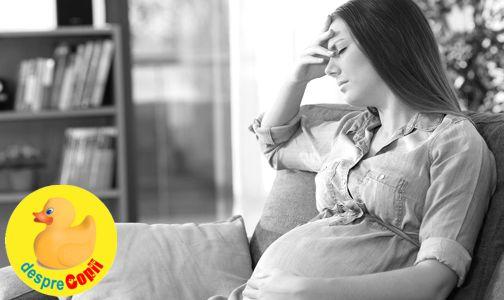 Poate stresul contribui la o nastere prematura? width=