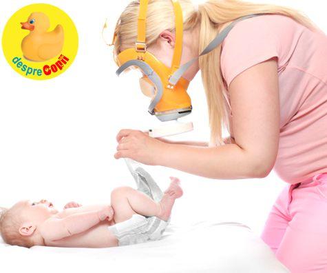 Poate bebelusul alaptat sa se baloneze din cauza alimentatiei mamei?