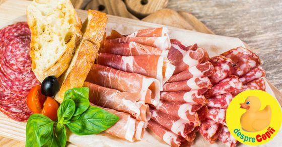 Sunt gravida: pot manca bacon, afumaturi si salam? width=
