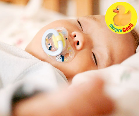 Cum alegi cea mai buna suzeta pentru bebelusul tau?