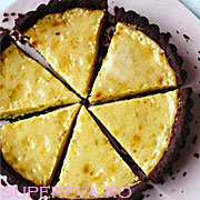 Tarta cu ciocolata si limeta