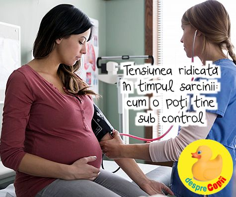 Tensiunea ridicata in timpul sarcinii: cum o poti tine sub control