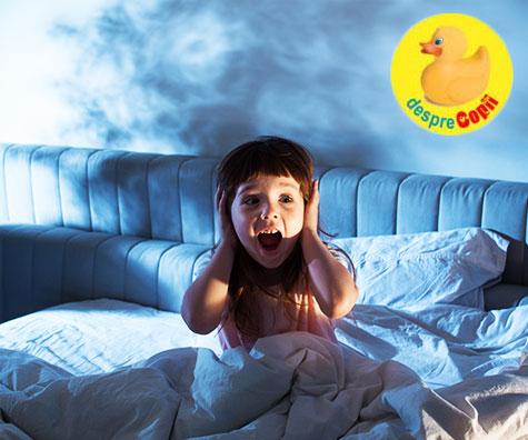 Ce sunt terorile nocturne si cum putem ajuta copilul?