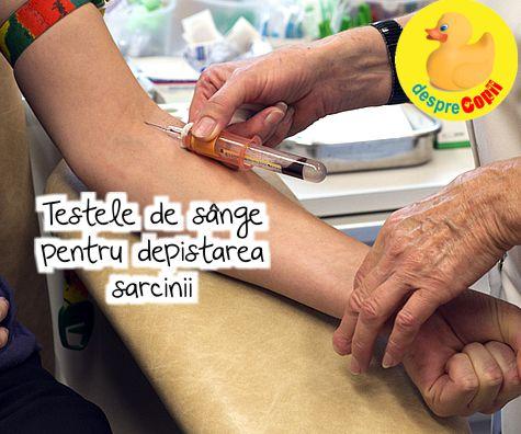 Testele de sange pentru depistarea sarcinii: tot ce trebuie sa stii