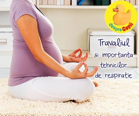 Travaliul si lectiile de yoga: O nastere mai usoara este la doar o respiratie distanta