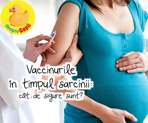Vaccinarea in timpul sarcinii: ce trebuie sa stim