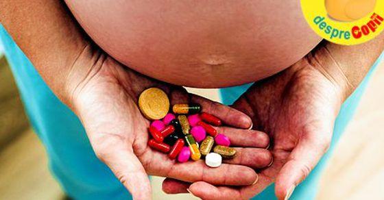 Vitaminele in timpul sarcinii width=