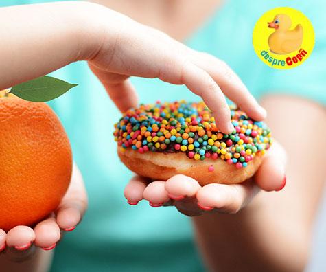 Cate dulciuri are voie un copil si de ce?