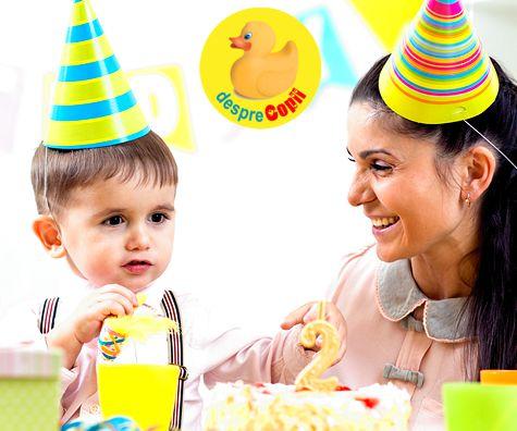 E ziua de nastere a copilului: sfaturi pentru serbarea de acasa